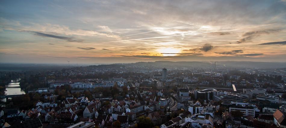 Sonne! Im Herbst! In Ulm!